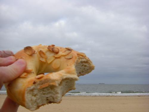 bagel + beach